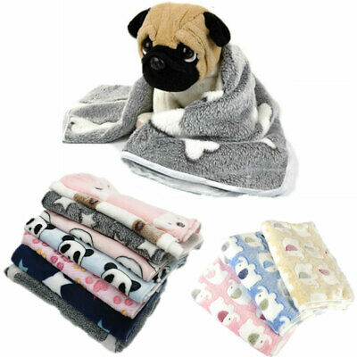 Dog Blanket Kennel Mat Pet Cat Dogs Sleeping Bed Cover Mat Warm Puppy Cushion