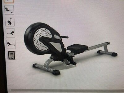 Brand New Air Magnetic Foldable Rowing Excercise machine#Burton