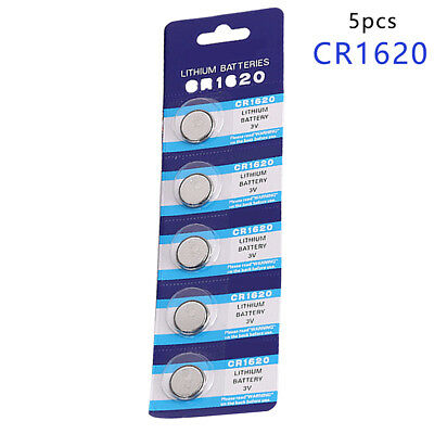 5Pcs/Lot Cr1620 1620 Ecr1620 Dl1620 280 3V Cell Coin Battery For Watches,Clocks