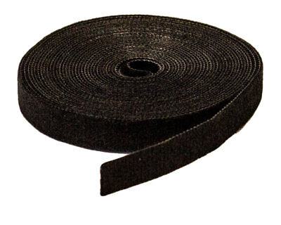 """1/2"""" Inch Roll Hook and Loop Reusable Cable Ties Wraps Straps 5M 15ft"""