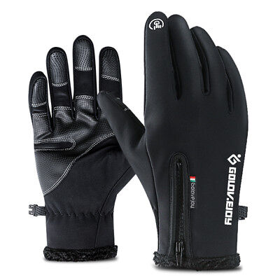 Winter Gloves Men Women Touchscreen Windproof Warm Non-Slip Driving Gloves