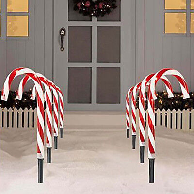 Christmas Pathway Candy Cane Walkway Light FAST SHIPPING