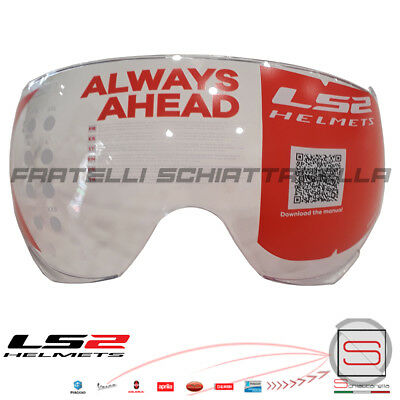 Visiera Occhiale Trasparente Casco Demi Jet LS2 Airflow OF562 Sphere Lux OF558