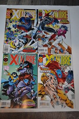 X-CALIBRE 1-4 Complete Series Run (Marvel comic books) lot x-men Warren Ellis