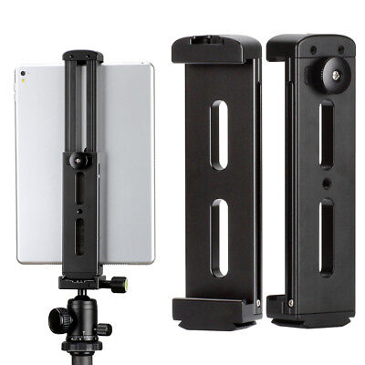 UK_ Aluminum Tablet Holder Tripod Mount Adjustable Stand for iPad Air Mini Hot S