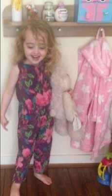 Girls Gorgeous  Monsoon  Playsuit Jumpsuit Age 5-6 Years
