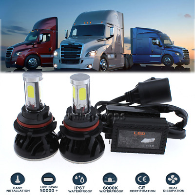 120W 9007 HB5 LED Headlight Bulb Kit For 2003-2012 International Truck 4300 4400
