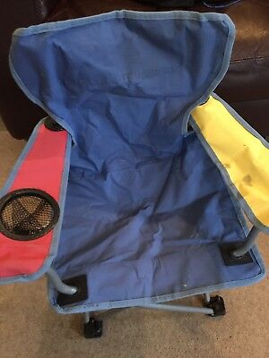 Childrens Fold Away Camping Chair Age 3-6 Years