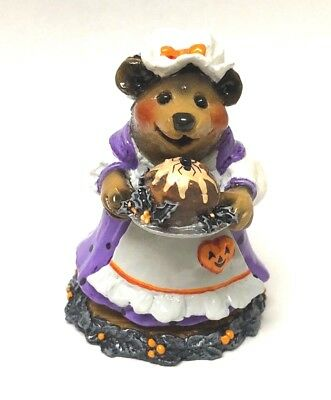 Wee Forest Folk PLUM PUDDING BEAR Halloween Limited Store Special 2006 BB-09