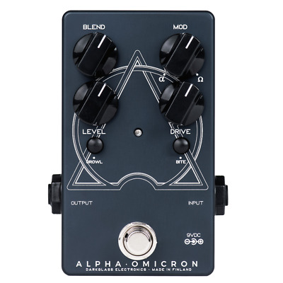 Darkglass Alpha Omicron Bass Preamp/OD Pedal insured & trackable shipping