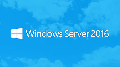 Windows Server 2016 Datacenter 64-bit License - Multilanguage