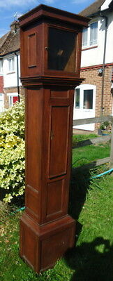 """LONGCASE CLOCK CASE"" Regency, Oak. Grandfather Clock,  c1800 - 1820."