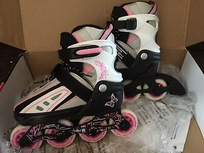 Immaculate SFR Girls Roller Blades Size 12-2 Boxed