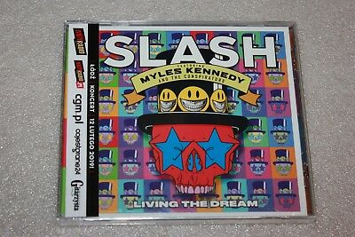 Slash - Living the Dream CD POLISH STICKERS