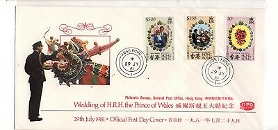 Hong Kong British Colonies China  Asia  Wedding First Day Cover Fdc  Lot (Ph 20)