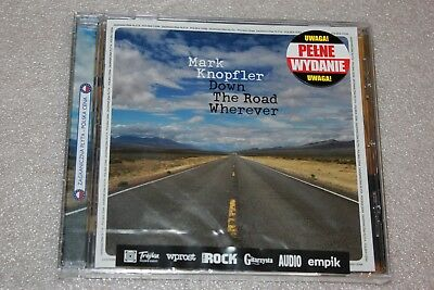 Mark Knopfler - Down The Road Wherever CD PL  POLISH RELEASE NEW SEALED
