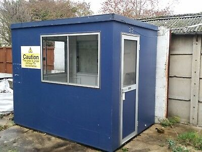 Portable office site container building 2.6x1.9 m  8.5x6.2 ft