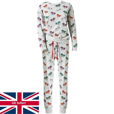 Unicorn Print Pyjamas Women's Girls Twinning Mum Daughter Matching PJ's Teenager