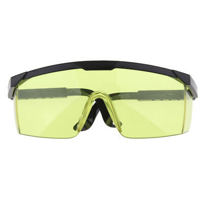 Safe Goggles Glasses Vented Eye Protection Lab Work Anti-Fog Eyewear Yellow