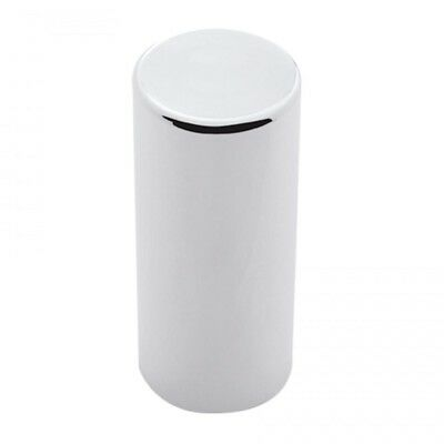 "Chrome Plastic 33Mm X 4 1/4"" Thread-On Cylinder Nut Cover"