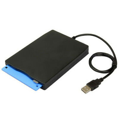 "2X(USB External Portable 1.44Mb 3.5"" Floppy Disk Drive Diskette FDD For PC  W1M8"