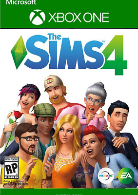The Sims 4 Xbox One Key - Full game No Box/disc