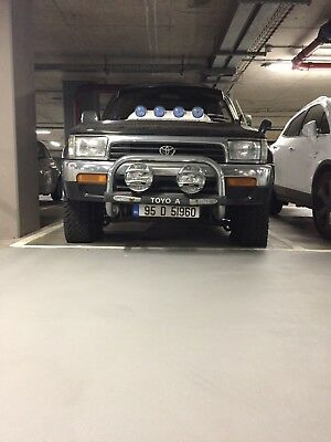 Blue Toyota Hilux Surf