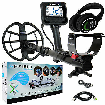 Nokta Makro Anfibio 19 kHz Underwater Metal Detector with Wireless Headphones