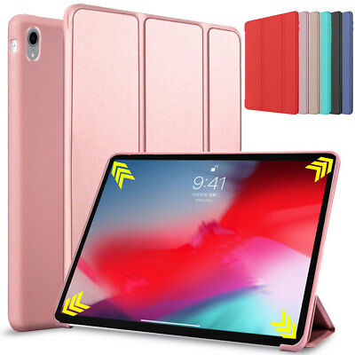 For Apple iPad Pro 11'' Inch 2018 Case Ultra Slim Smart Leather Flip Stand Cover