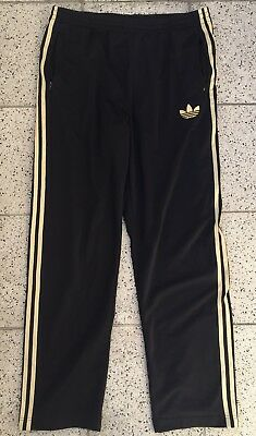 3c4207390060f2 Adidas Originals Firebird Hose Herren Trainingshose Gr XL schwarz gold
