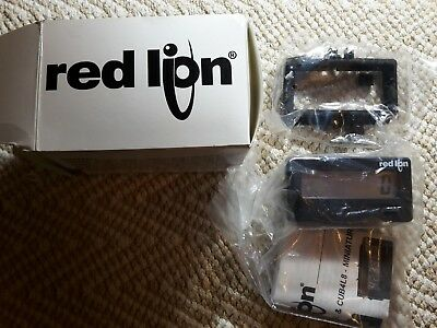 Red Lion Controls CUB4L000 Reflective Display 6 Digit Counter New in Box