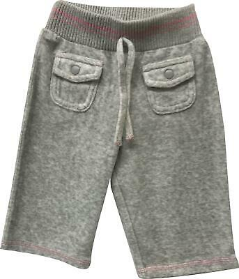 Girls Next Grey Front Pocket Jogger Trousers Size 3-6 Months