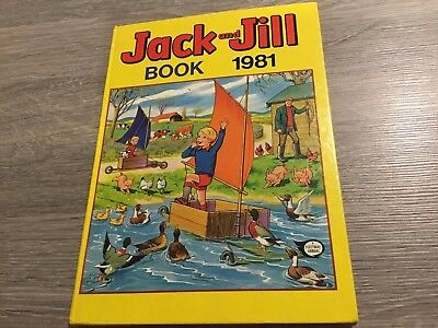 JACK and JILL  BOOK  1981 Excellent Condition