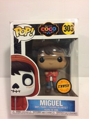 Funko Pop! Disney Pixar: COCO: MIGUEL #303 Chase Limited Edition BOX IS WORN