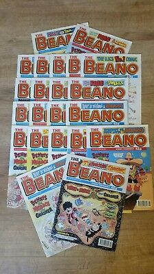 Beano Comics job lot (x22) 1996