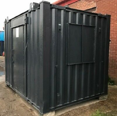 10ft x 8ft Anti Vandal Office  Container WATERPROOF SECURE UK