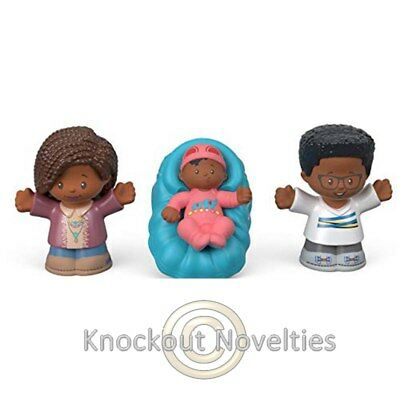 Fisher Price - Little People Family 3 Pack - African American Play Learn fun Toy