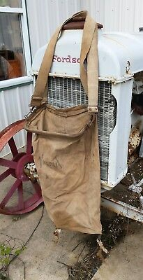Antique Orchard Apple Picker Farm Garden Bag Shoulder Harness Straps