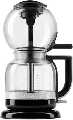 KitchenAid Coffee Maker 8-Cup Automatic Cord Wrap Stainless Steel Filter New