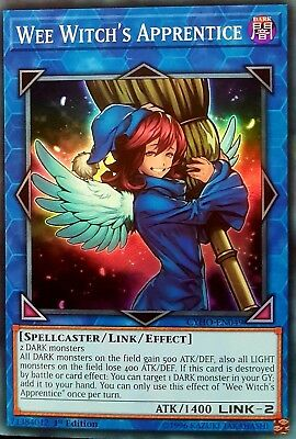 Yugioh Wee Witch's Apprentice CYHO-EN049 1st Super Rare Near Mint Fast Shipping!