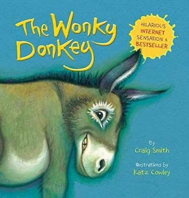 The Wonkey Donkey Book by Craig Smith Paperback Kids Humor Gift for Christmas