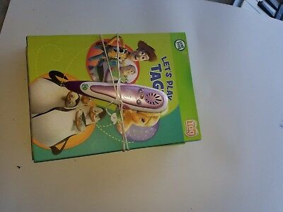 Leap Frog Tag Pen Reading System w/ 5 Books