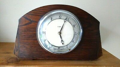 Vintage Smiths Small 8 Day Mantel Clock