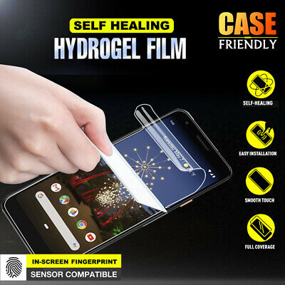 For Google Pixel 3 XL 3A XL 4 XL HYDROGEL AQUA FLEXIBLE Crystal Screen Protector