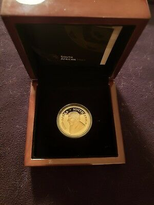 2017 50th Anniversary South Africa 1oz PLATINUM Krugerrand Proof