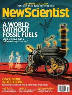 NEW SCIENTIST MAGAZINE 18th OCT 2014 ~ SPECIAL OFFER BUY ANY 6 ISSUES FOR £10.00