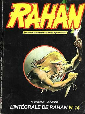 Collection L'INTEGRALE DE RAHAN n° 14 Editions VAILLANT 1985