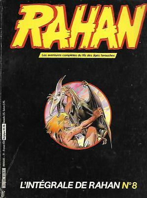 Collection L'INTEGRALE DE RAHAN n° 8 Editions VAILLANT 1984