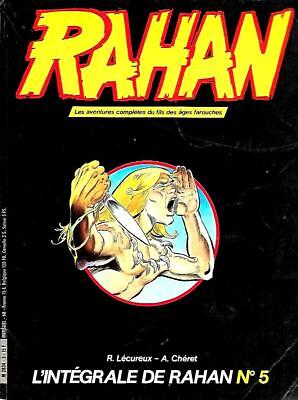 Collection L'INTEGRALE DE RAHAN n° 5 Editions VAILLANT 1984