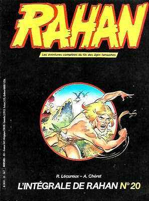 Collection L'INTEGRALE DE RAHAN n° 20 Editions VAILLANT 1985